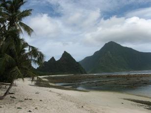 Ofu (left) and Olosega (right), National Park of American Samoa, 2009