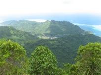 Huahine viewed from Mt. Turi, Society Islands, 2008