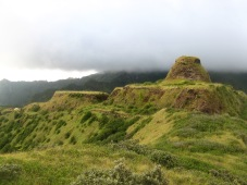 Ancient fort on Rapa, Austral Islands, 2008