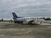 Air Rarotonga plane, Atiu, Cook Islands, 2008