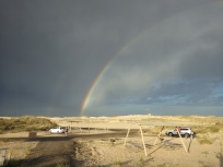 After the thunderstorm, Monahans Sandhills State Park, Texas