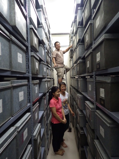Vietnam National University - University of Science herbarium, Hanoi, 2014