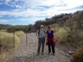 Erica (UA) and Danica (UA), Leslie Canyon NWR, Arizona