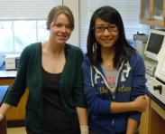 Lesje Atkinson (UC Berkeley, now SUNY Downstate) and Chang Guo (UC Berkeley, now UCSF)